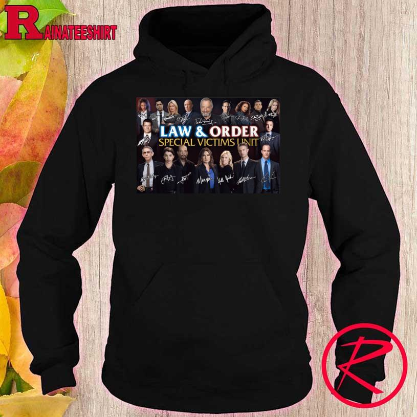 Law And Order Special Victims Unit Signatures hoodie