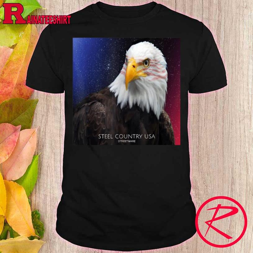STEEL COUNTRY USA PATRIOT EAGLE Shirt