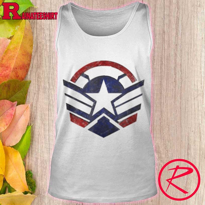 The Falcon And The Winter Soldier Captain America Star Icon Shirt tank top