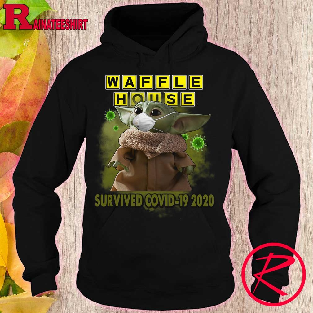 Baby Yoda waffle house survived covid-19 2020 s hoodie