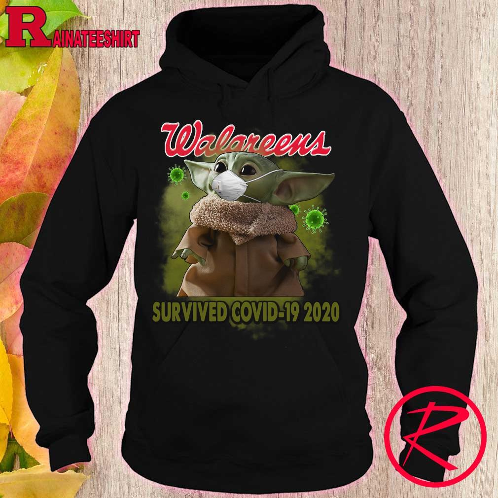 Baby Yoda walgreens survived covid-19 2020 s hoodie
