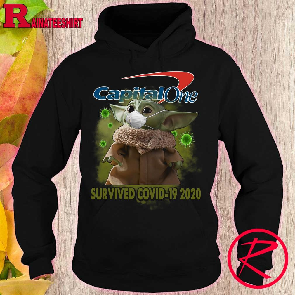 Capital One Baby Yoda survived covid-19 2020 s hoodie