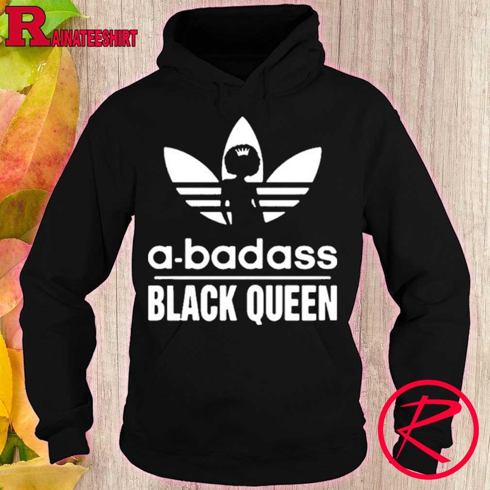 Official A Badass Black Queen Love 2020 Shirt hoodie