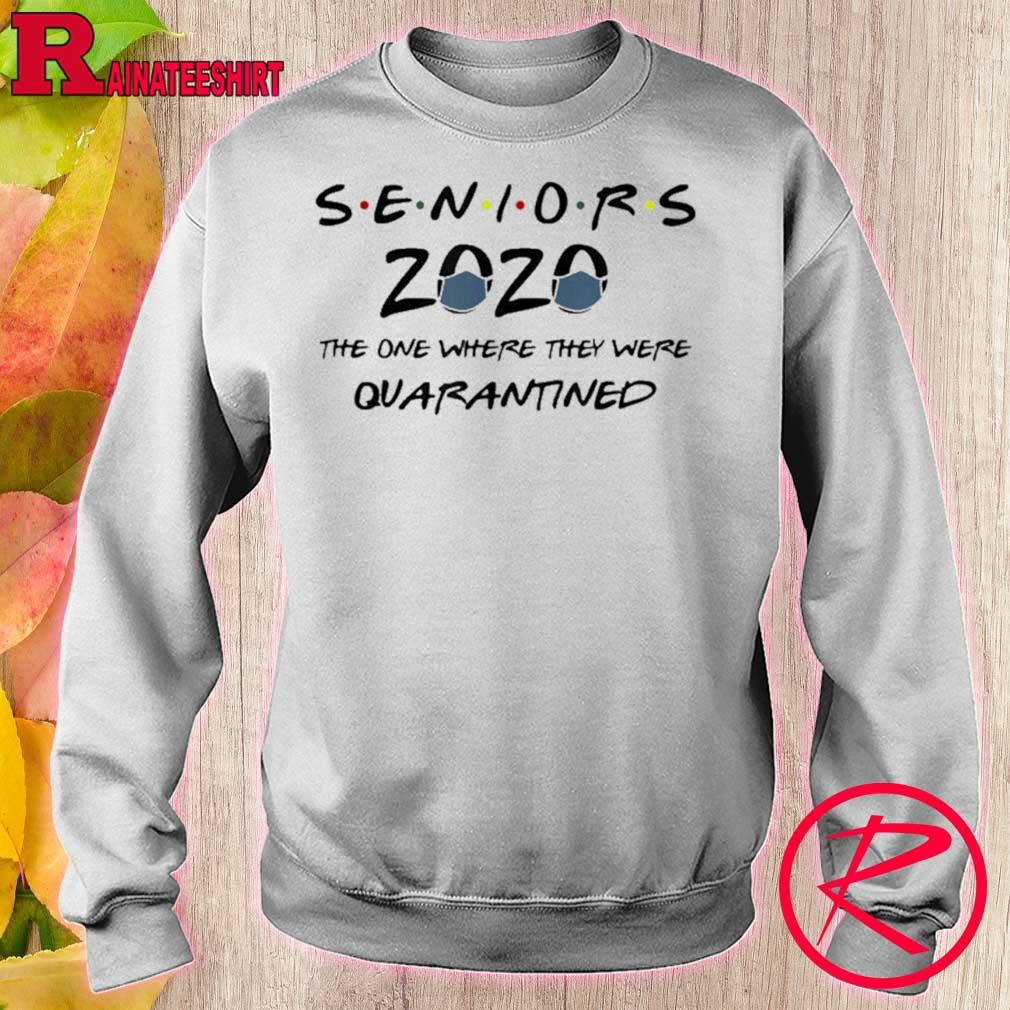 Official Class Of 2020 Graduation Senior Funny Quarantine Gift Shirt sweater