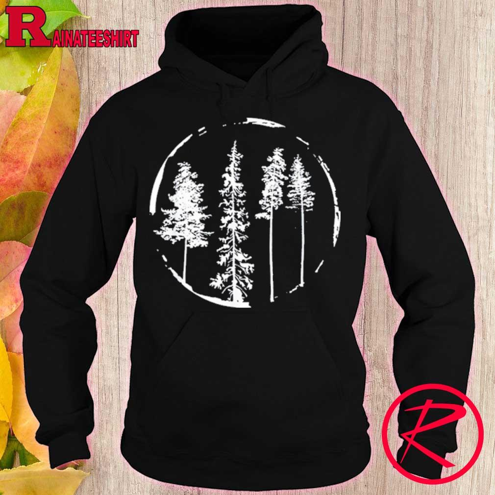 Official Floral Forest Circle Tree Shirt hoodie