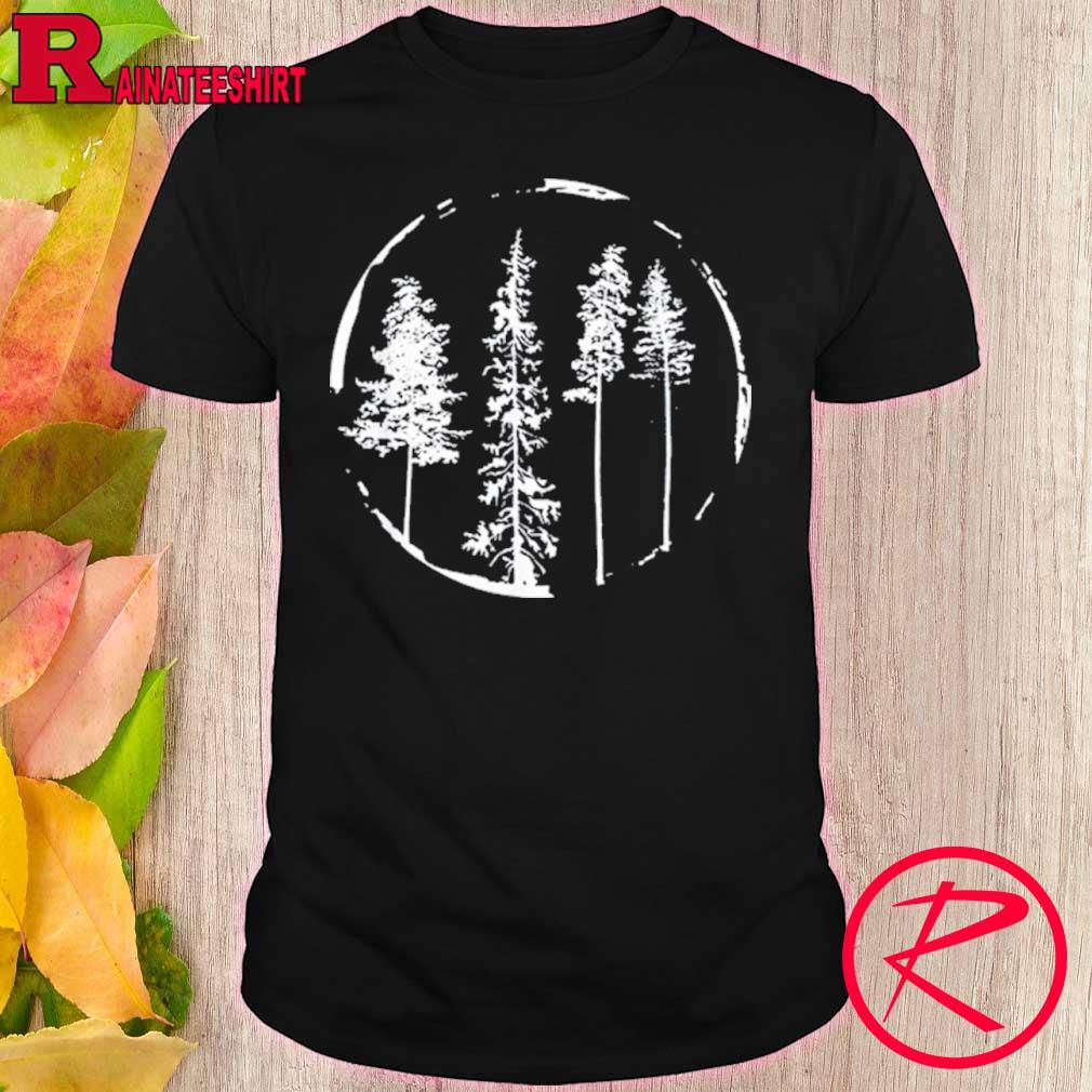 Official Floral Forest Circle Tree Shirt