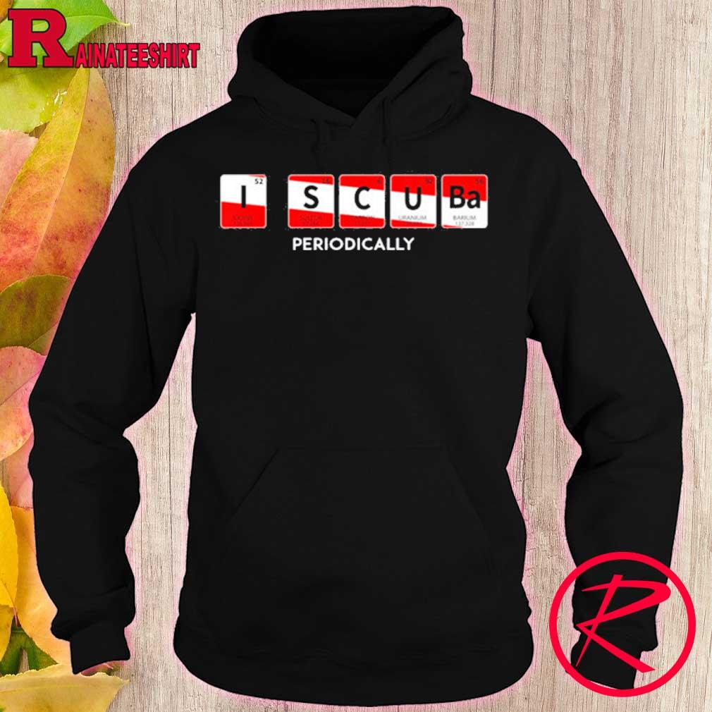Official I Scuba Periodically Element Design With Number And Weight Shirt hoodie
