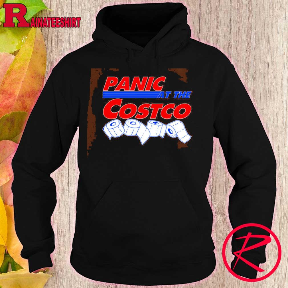 Official Official Panic At The Costco Toilet Paper Coronavirus Shirt hoodie