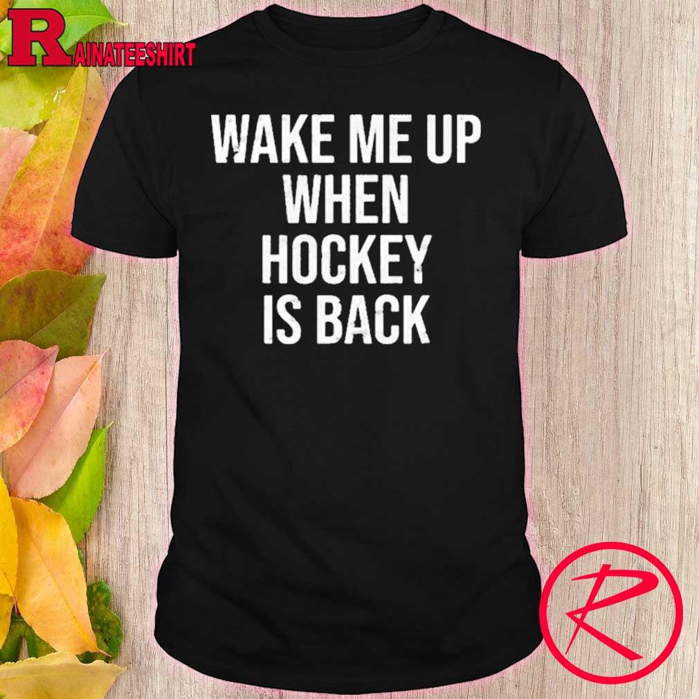 Official Wake Me Up When Baseball Is Back Shirt