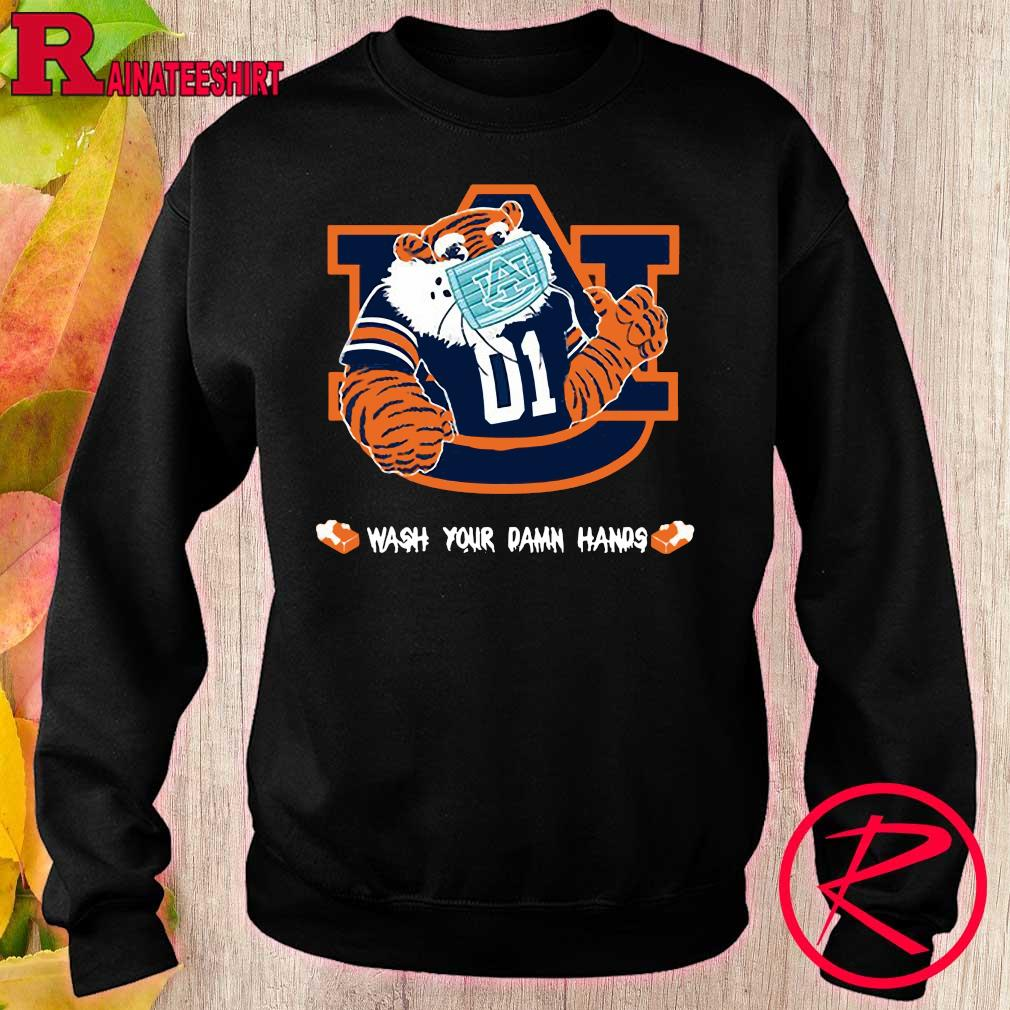 Official Auburn Tigers Wash Your damn hands s sweater